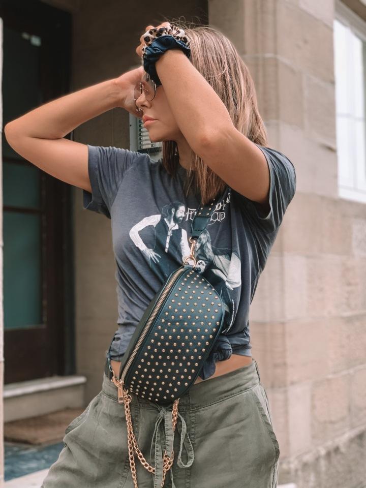 90s outfit – bumbag australian designer