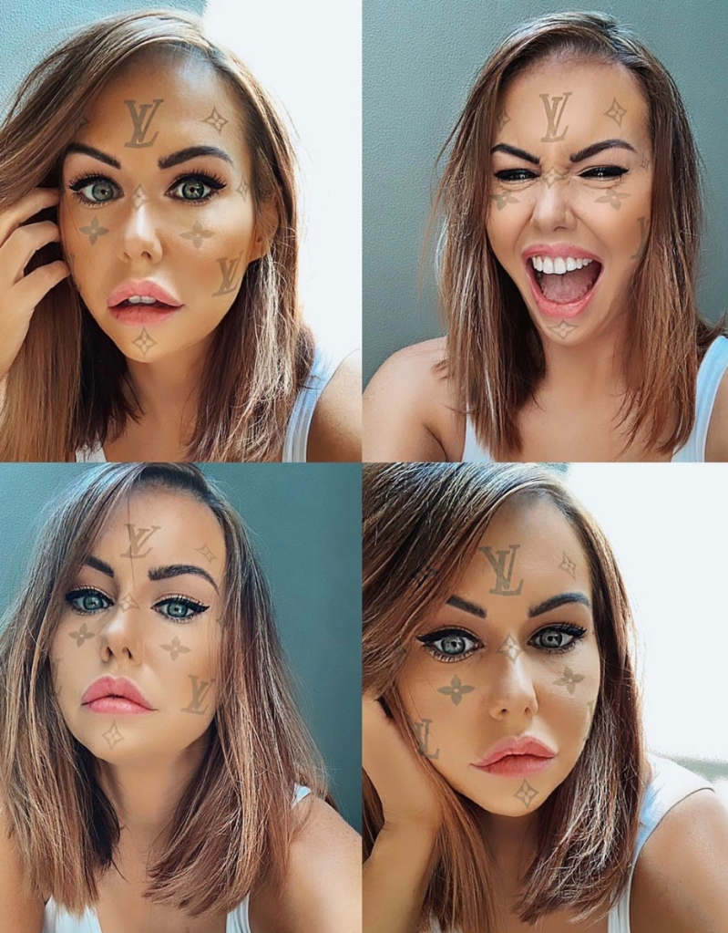 lv beauty filter instagram