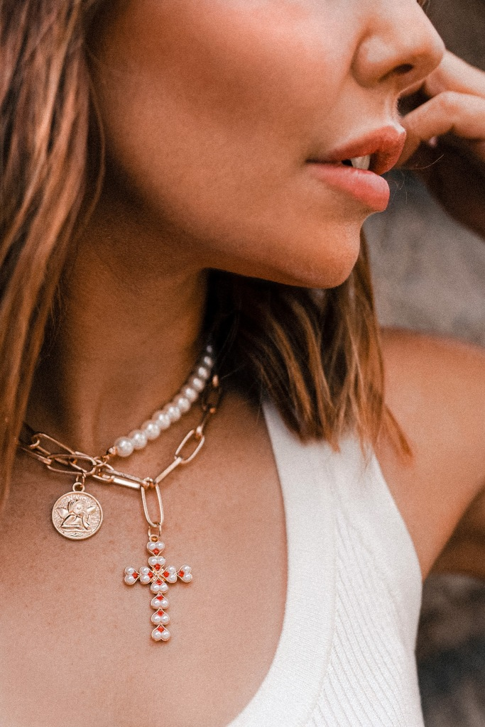 affordable gold necklaces
