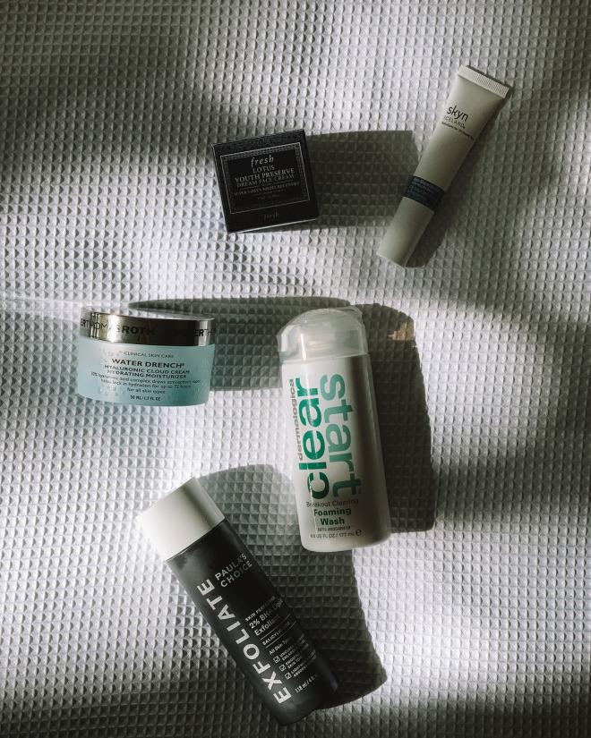 8 products that got me through a skin purge